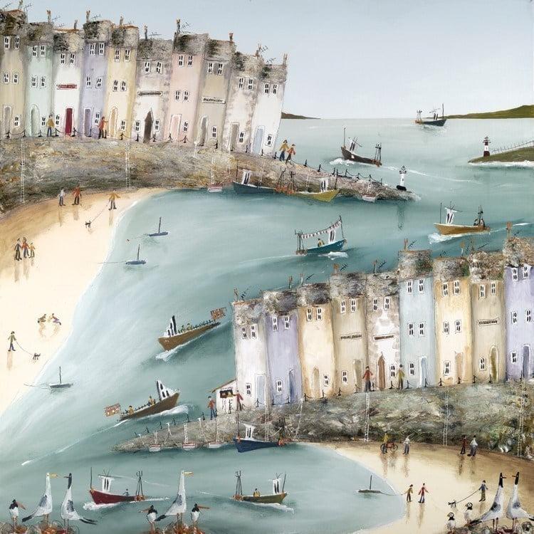 Harbour hustle ~ Rebecca Lardner