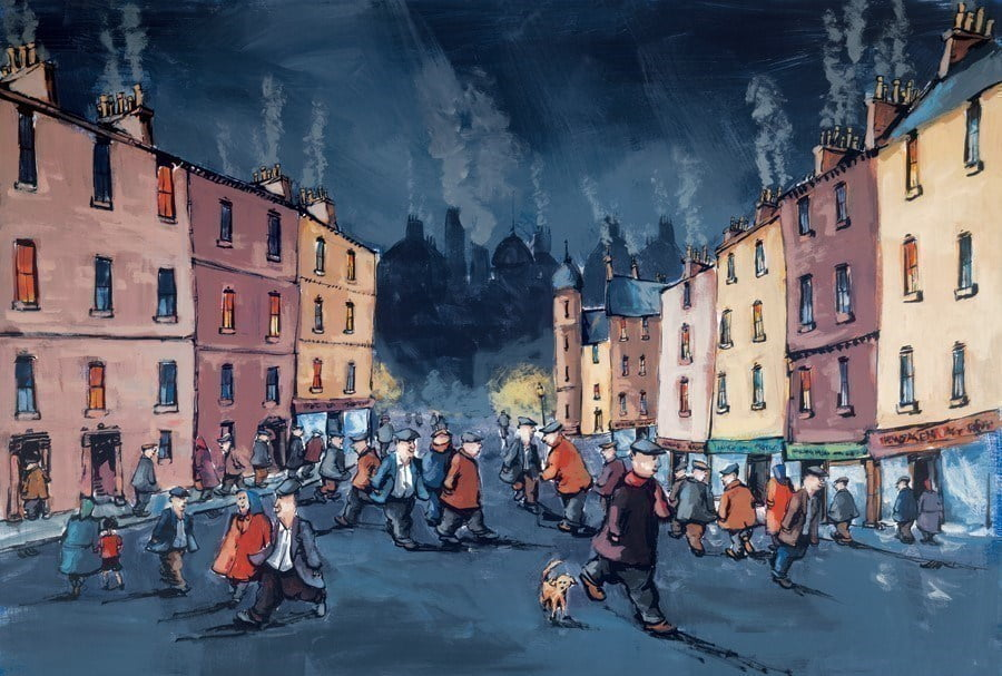 On the Town III ~ George Somerville