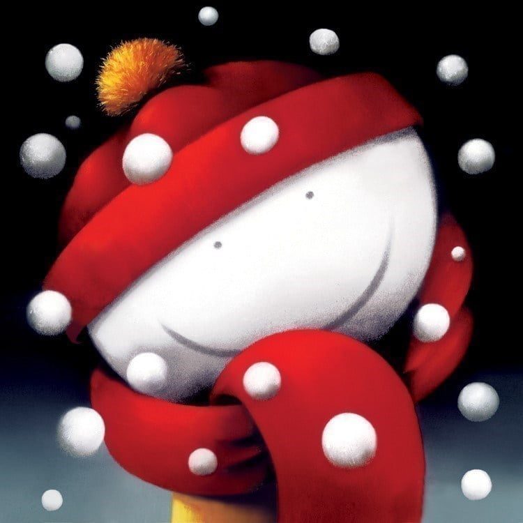 Winter smiles (glass edition) ~ Doug Hyde