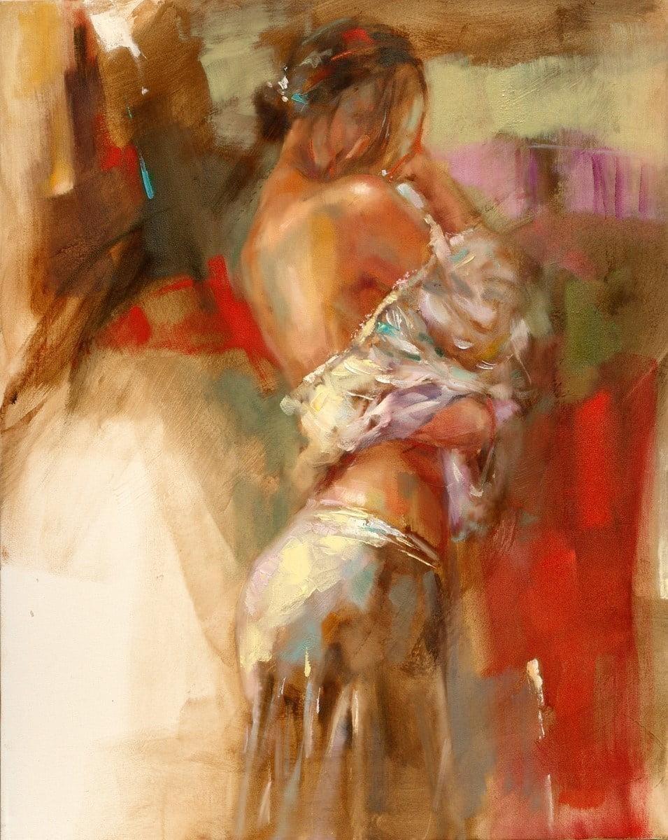 Lime light i (deluxe canvas) ~ Anna Razumovskaya