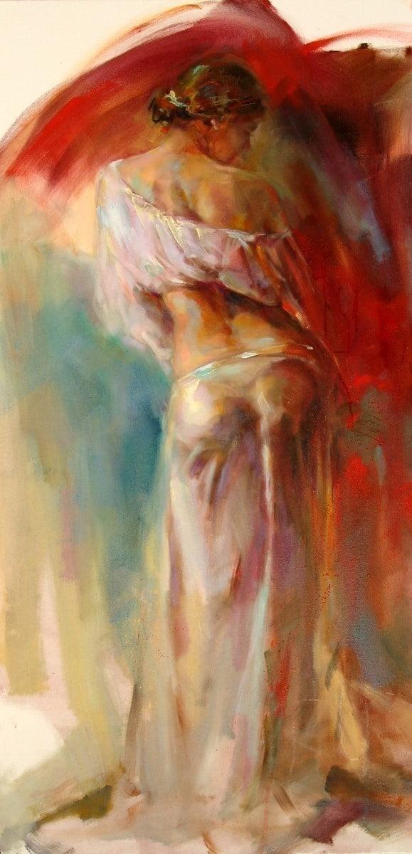 Lime light ii (deluxe canvas) ~ Anna Razumovskaya