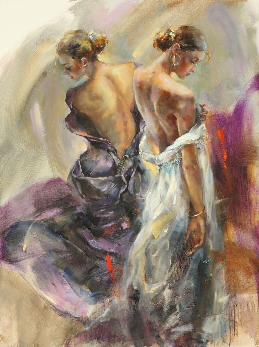Purple grace (deluxe canvas) ~ Anna Razumovskaya