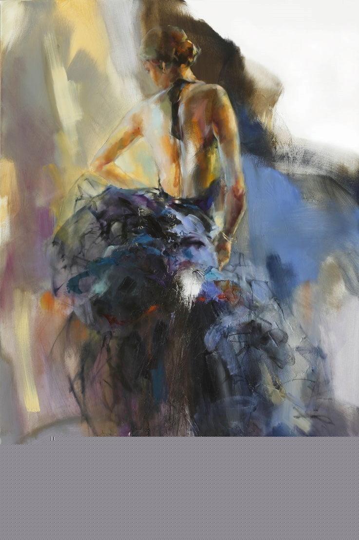 Sapphire momento (deluxe canvas) ~ Anna Razumovskaya