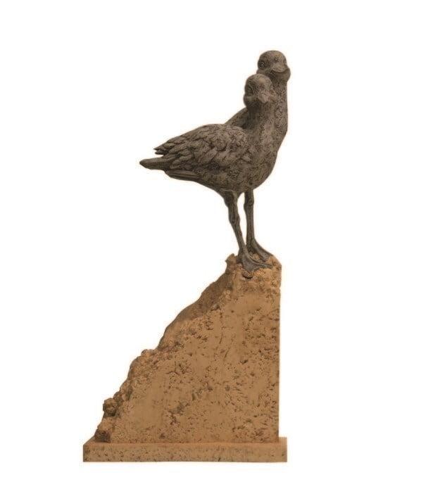 Avocet cove (sculpture) ~ Rebecca Lardner
