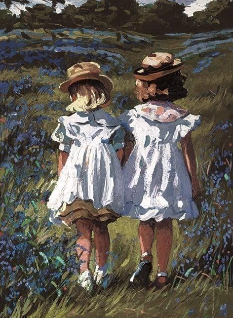 Bluebell meadow ~ Sherree Valentine Daines