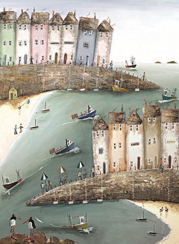Oystercatcher Bay (Canvas) ~ Rebecca Lardner
