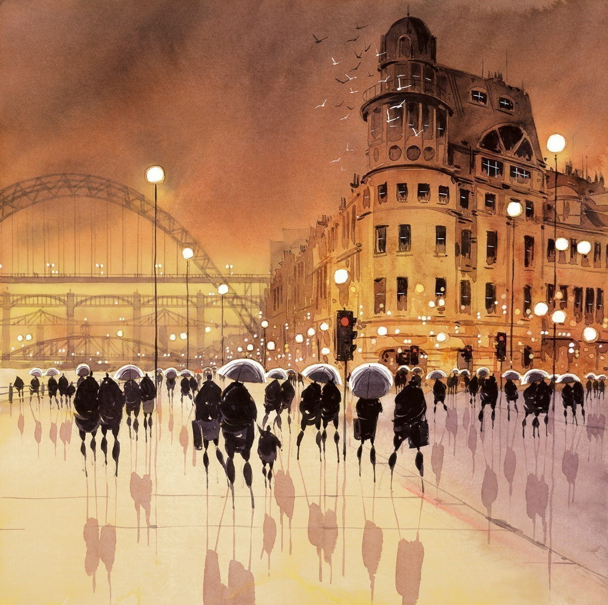 Quayside reflections ~ Peter J Rodgers