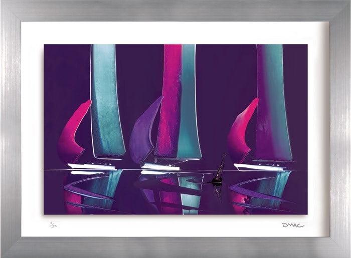 Moonlit sails iii ~ Duncan MacGregor
