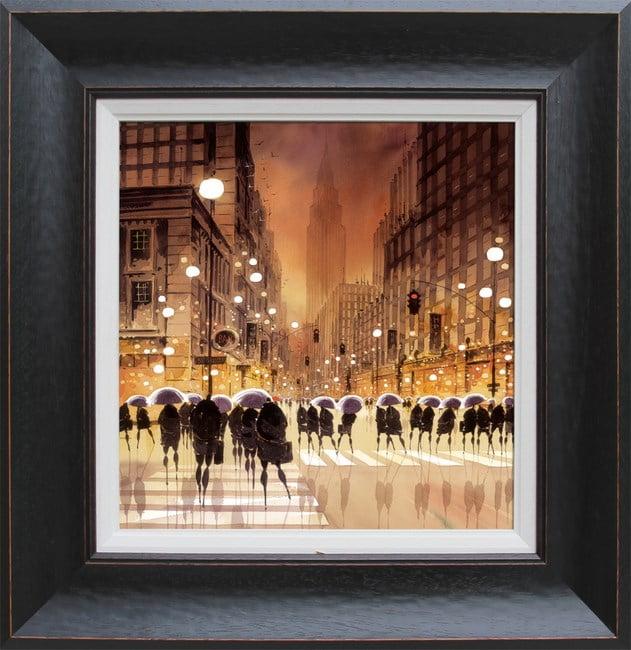 Shadows on the sidewalk ~ Peter J Rodgers