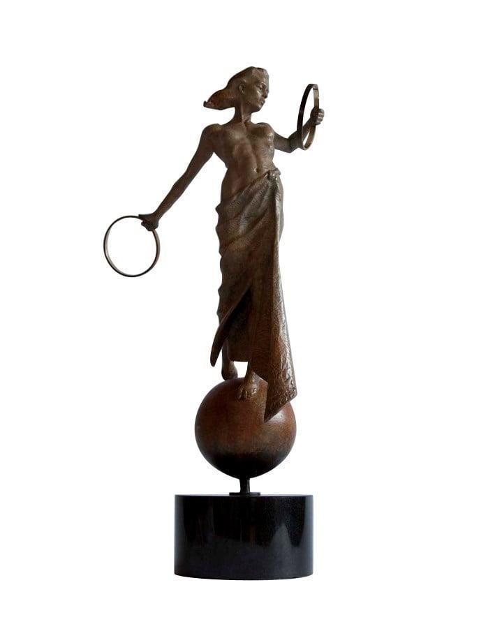 Victory (bronze resin) ~ Carl Payne