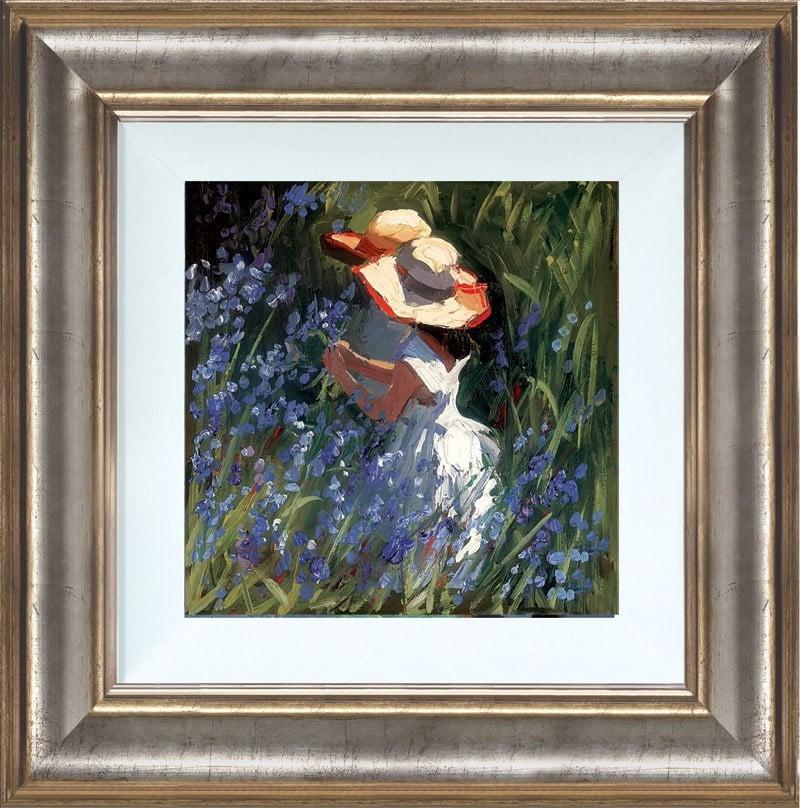 Gathering bluebells ~ Sherree Valentine Daines
