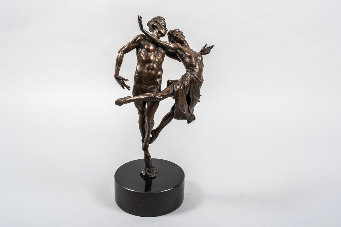 Dancing the Dream (Bronze Sculpture) ~ Carl Payne