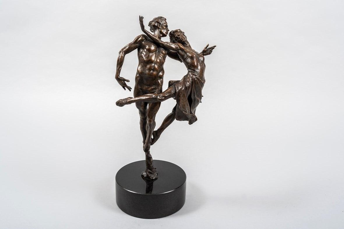 Dancing the Dream (Bronze Sculpture) ~ Carl Payne