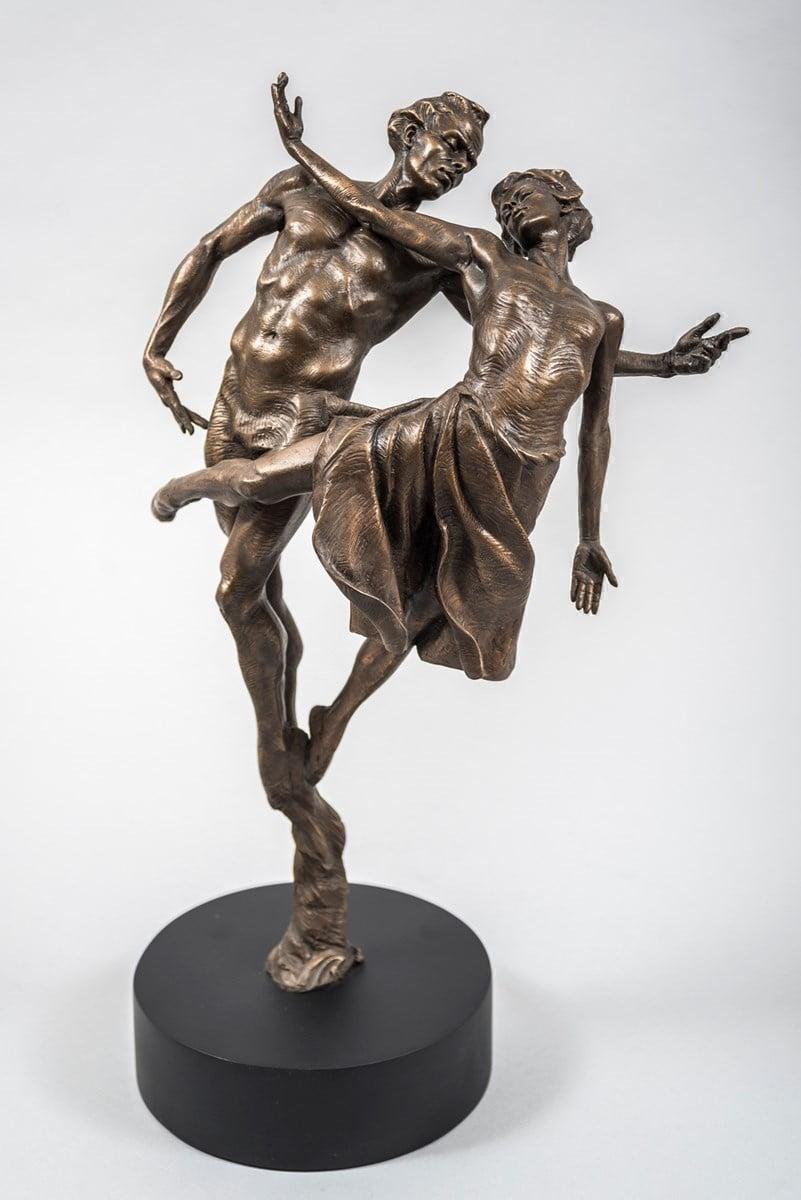 Dancing the Dream (Resin Sculpture) ~ Carl Payne