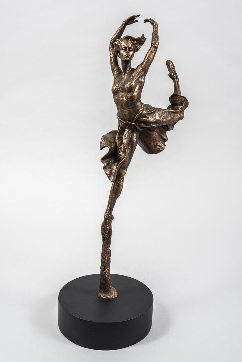 Leap of Faith (Resin Sculpture) ~ Carl Payne