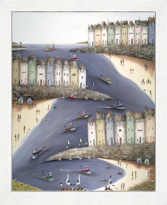 Hustle and bustle (canvas) ~ Rebecca Lardner
