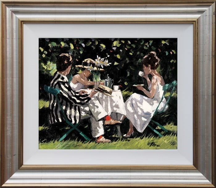 Tea on the Lawn ~ Sherree Valentine Daines