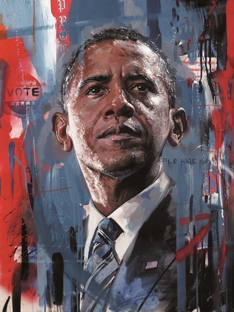 Barack Obama ~ Zinsky