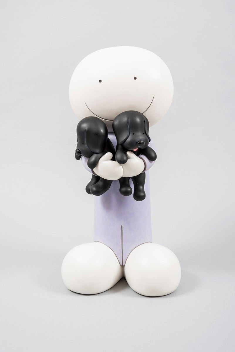 Puppy love (large scuplture) ~ Doug Hyde