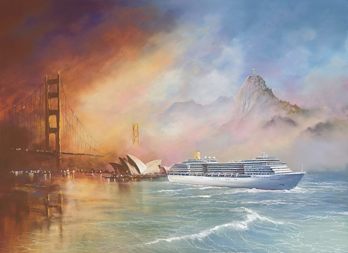 Voyage of Memories - Arcadia 2013 ~ Philip Gray