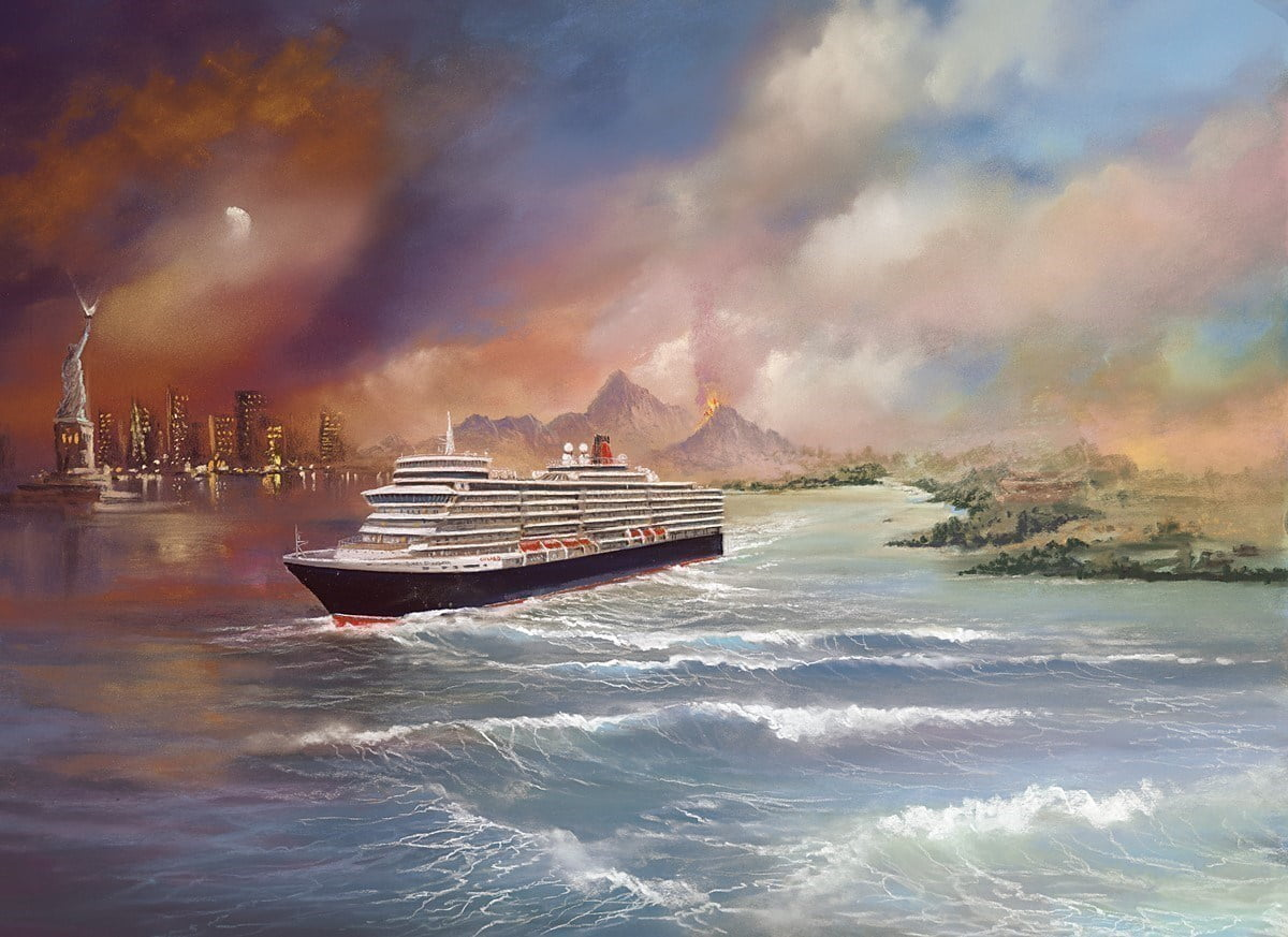 Voyage of Memories - Queen Elizabeth 2013 ~ Philip Gray