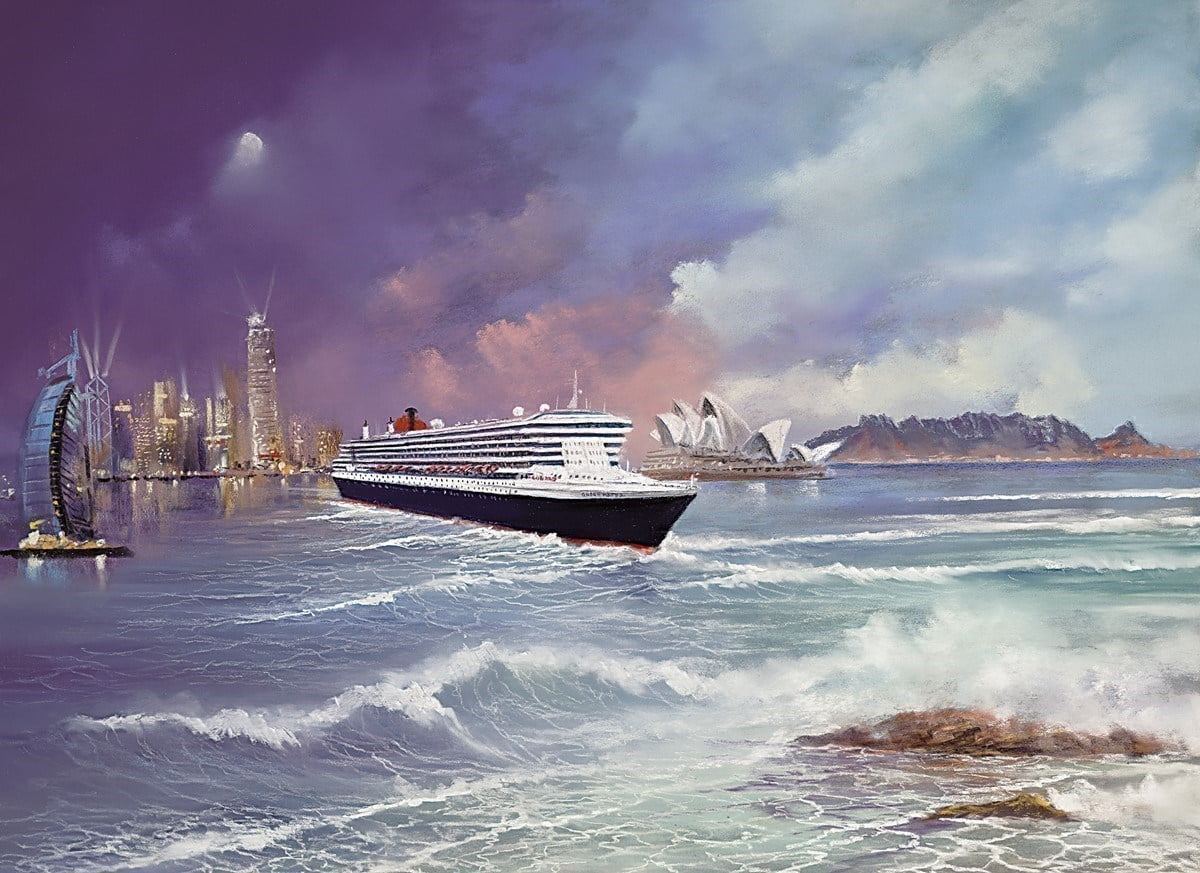 Voyage of Memories - Queen Mary II 2013 ~ Philip Gray