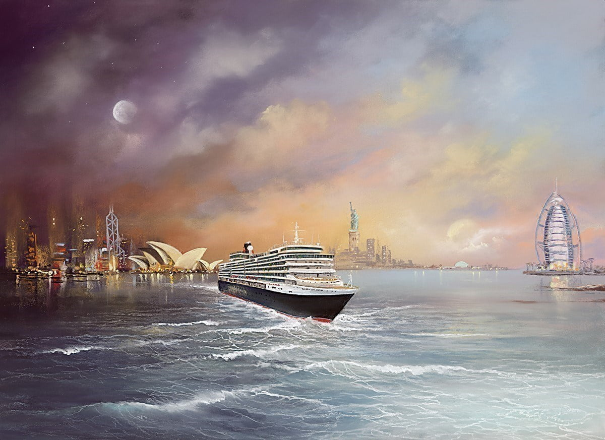 Voyage of Memories - Queen Victoria 2013 ~ Philip Gray