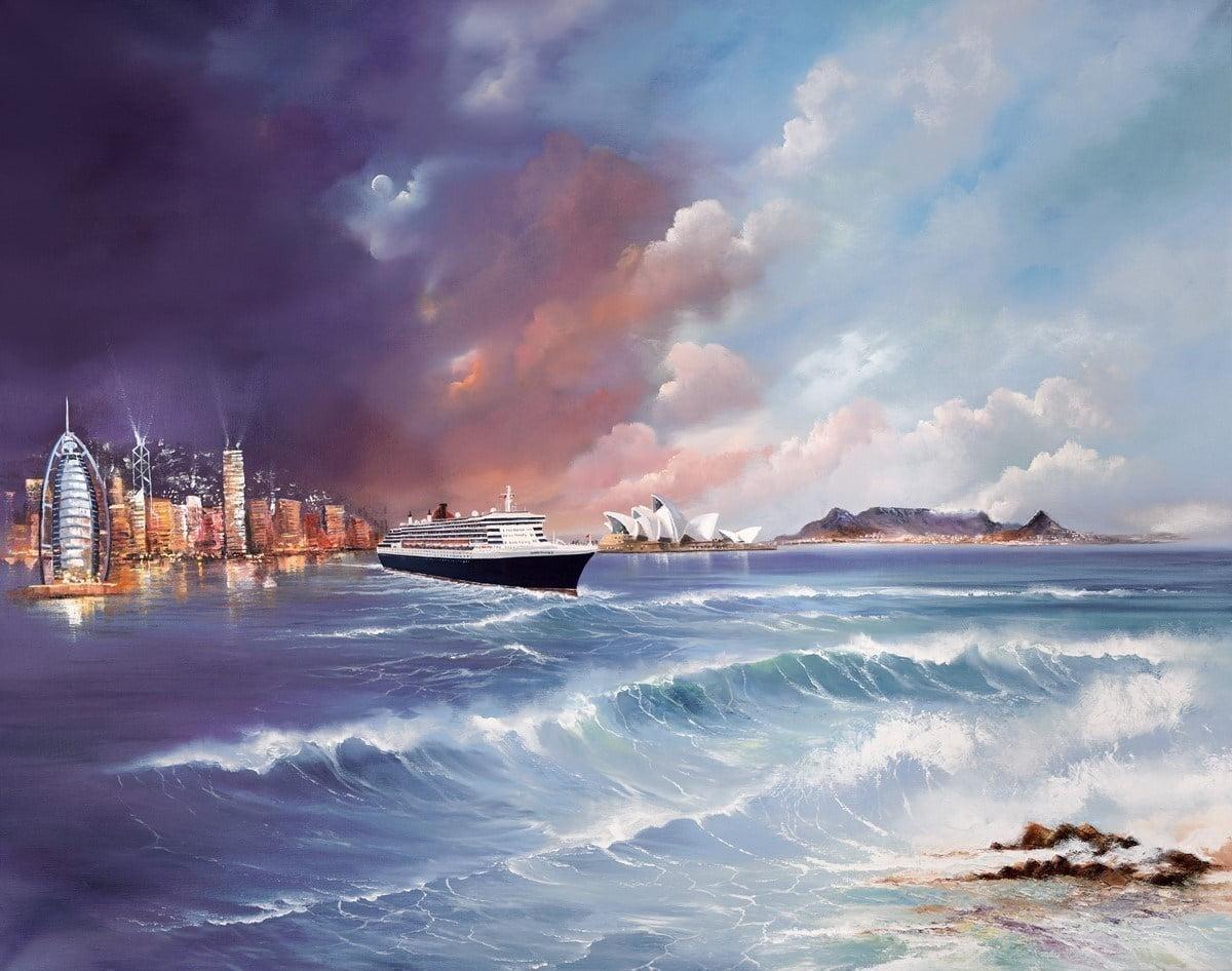World of Memories - Queen Mary II 2013 ~ Philip Gray