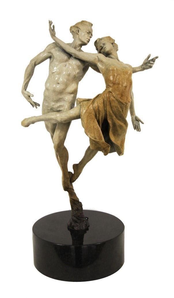 Dancing the Dream - California (Sculpture) ~ Carl Payne