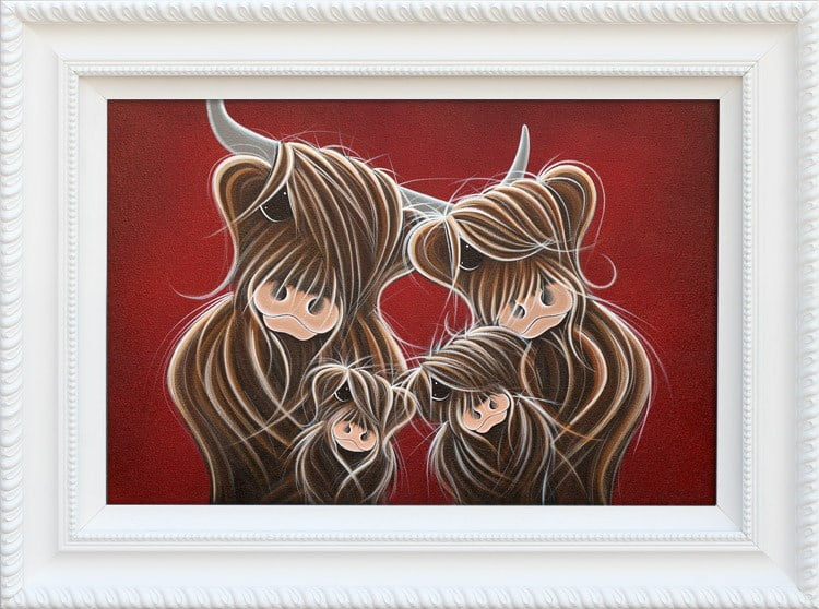 Fa-moo-ly Portrait ~ Jennifer Hogwood