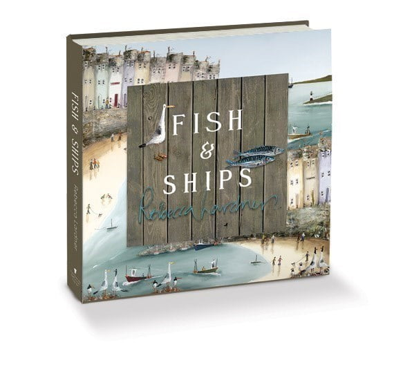 Fish and Ships (Open Book) ~ Rebecca Lardner