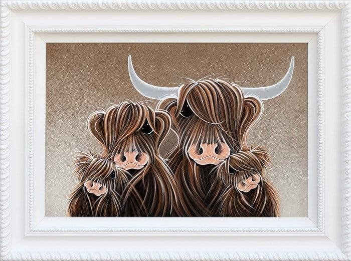 The four moosketeers ~ Jennifer Hogwood