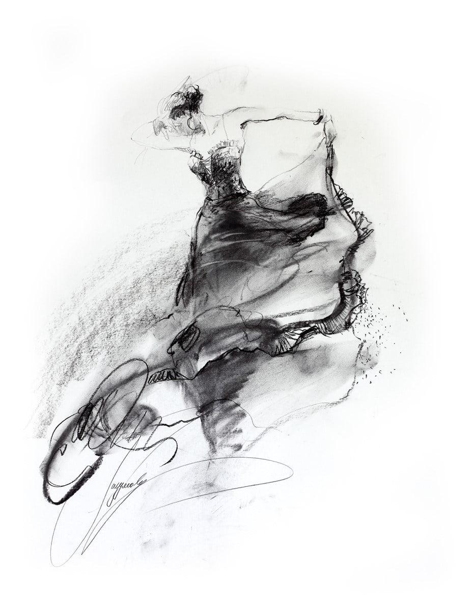 She dances in beauty i (20 x 30) canvas u.S. Editi ~ Anna Razumovskaya
