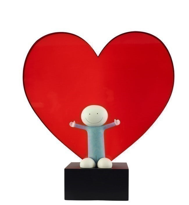 Lots of Love (Sculpture) ~ Doug Hyde