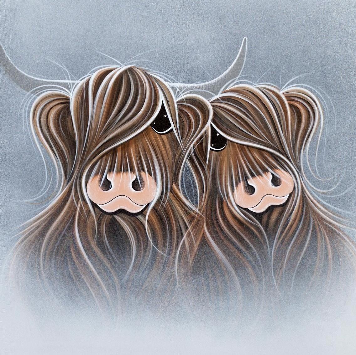Moo's in the Mist ~ Jennifer Hogwood
