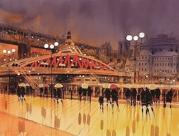 Swing Bridge View ~ Peter J Rodgers