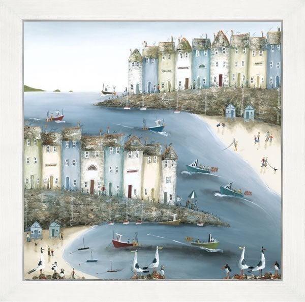 Home by the Sea (Box Canvas) ~ Rebecca Lardner