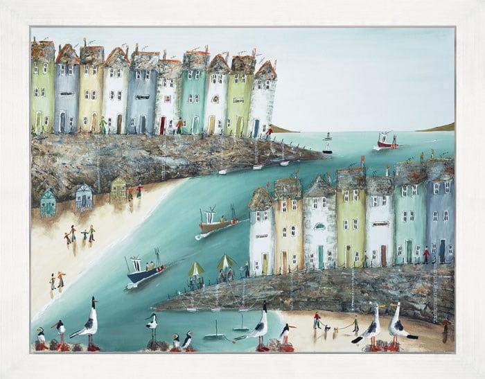 Rock the Boats (Box Canvas) ~ Rebecca Lardner