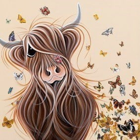 Is that a Butterfly On My Nose ~ Jennifer Hogwood