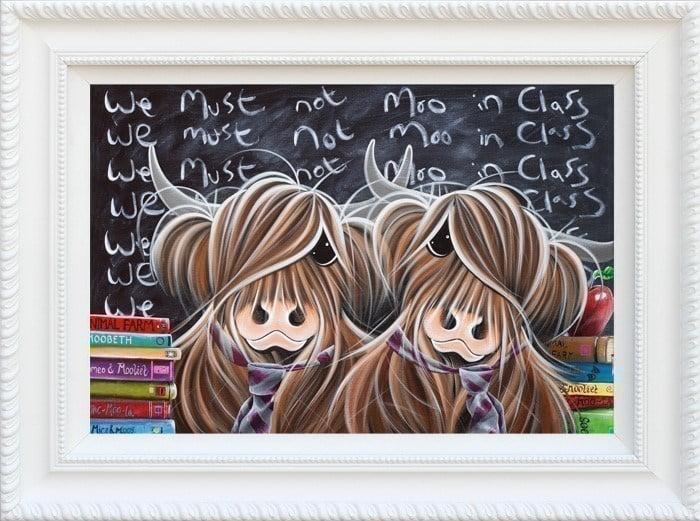We must not moo in class (c/board) - hogwood ~ Jennifer Hogwood