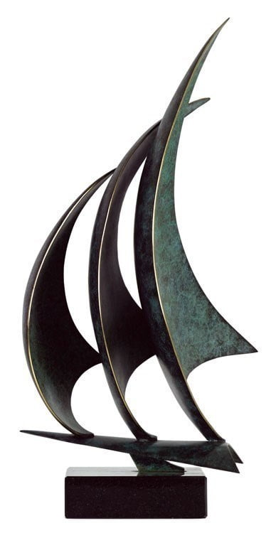 Flying Sails (Bronze Sculpture) ~ Duncan MacGregor
