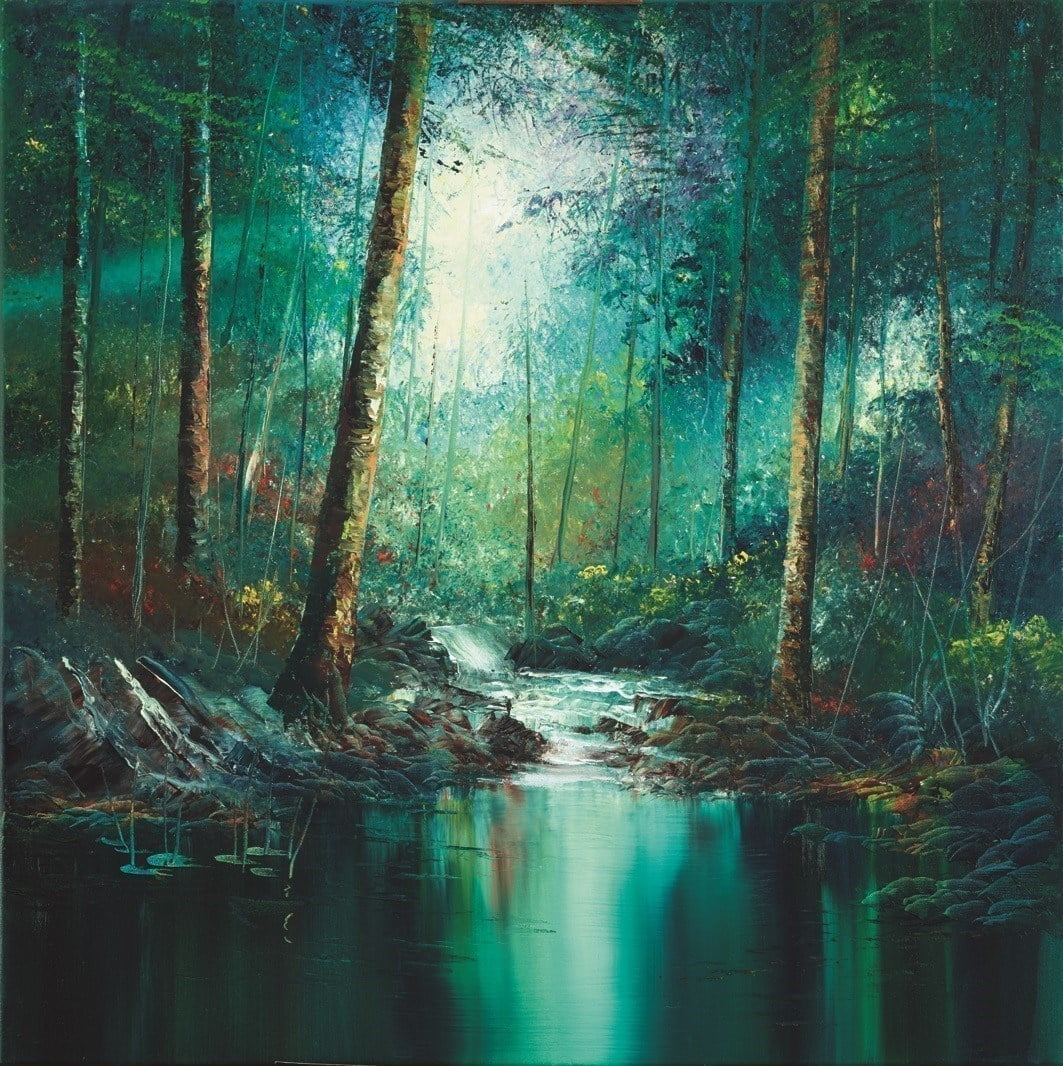 Rainforest Pool ~ Philip Gray