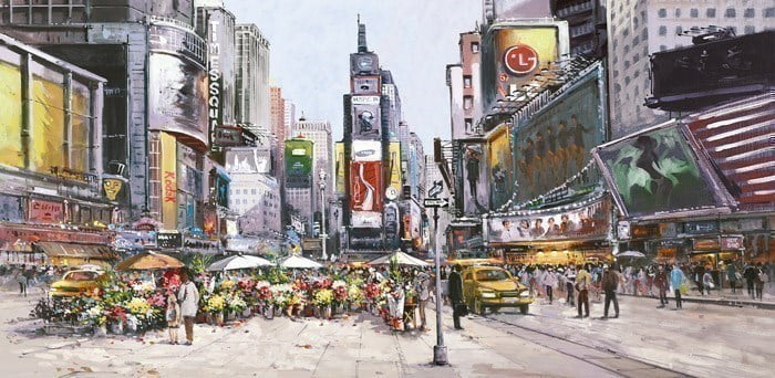 Times Square in Bloom ~ Henderson Cisz