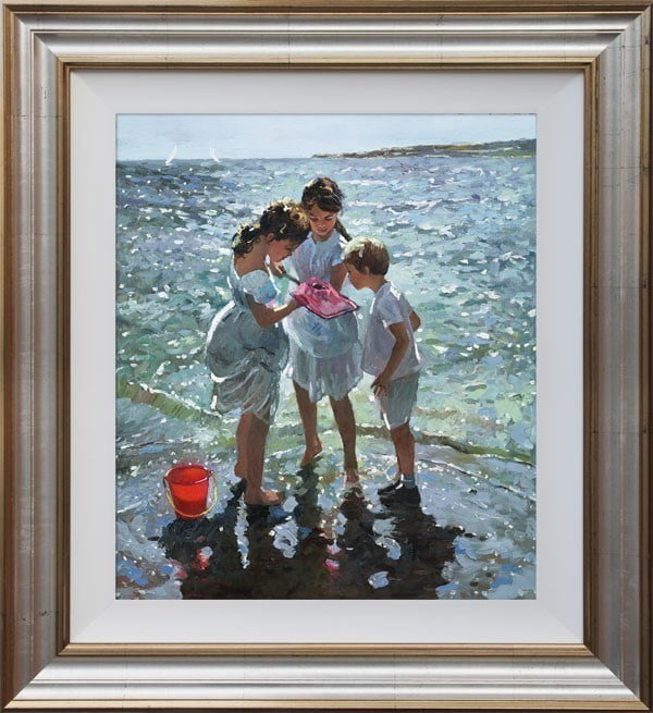 Inspecting the Catch ~ Sherree Valentine Daines