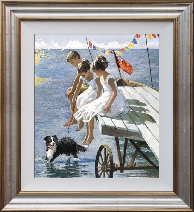 On The Jetty ~ Sherree Valentine Daines