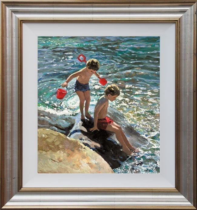 Playing on the Rocks ~ Sherree Valentine Daines