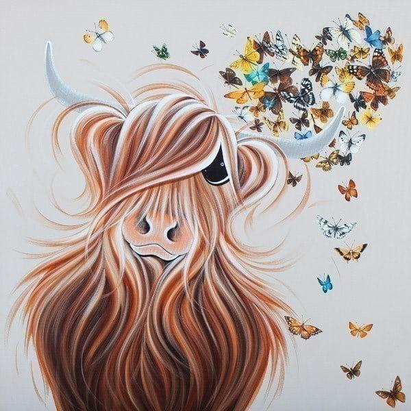 Moo's Fluttering Heart ~ Jennifer Hogwood