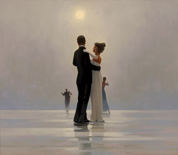 Dance Me to End of Love ~ Jack Vettriano