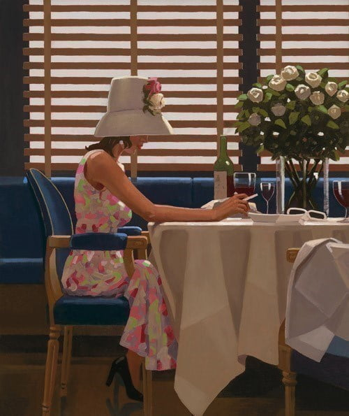 Days of Wine and Roses ~ Jack Vettriano