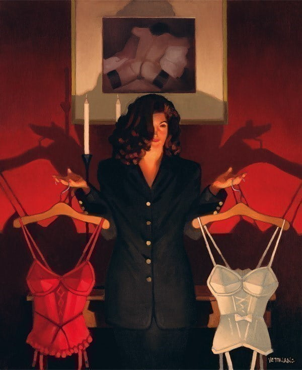 Heaven or Hell ~ Jack Vettriano